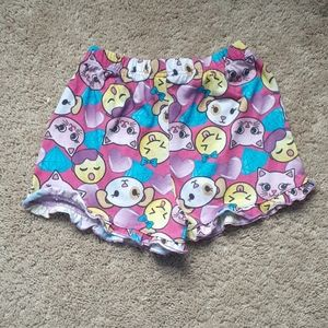 Other - Emoji girls sleepwear (shorts)